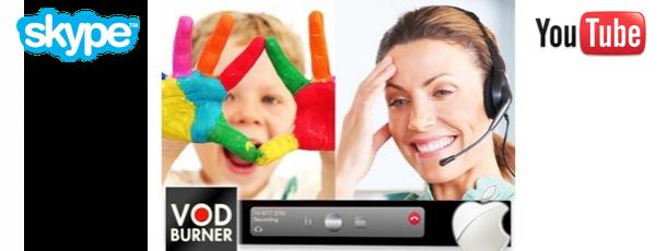 VodBurner for Skype